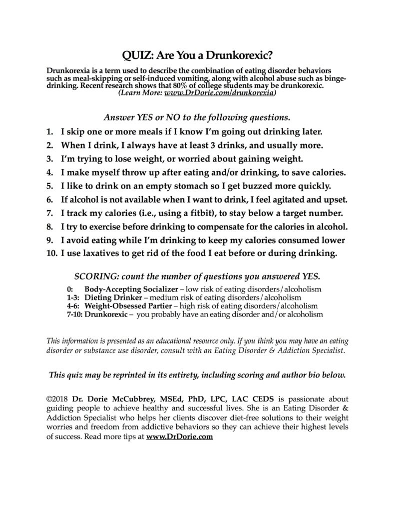 Drunkorexia dr dorie click on image to download and print a pdf file fandeluxe Image collections